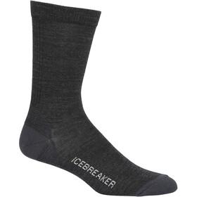 Icebreaker Lifestyle Ultralight Crew Socks Men jet heather